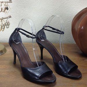 Costume National Black Platform Stiletto S…